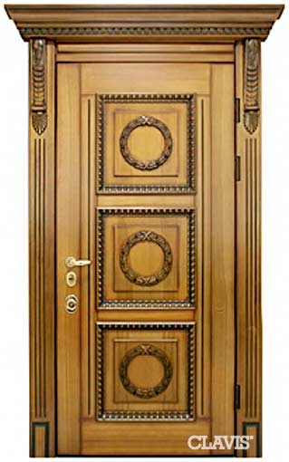 входные двери из массива дуба 4 го класса